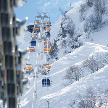 Туристы в Сочи смогут прокатиться на лыжах в июне
